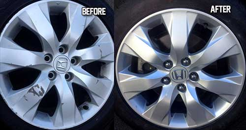 before and after wheel repair
