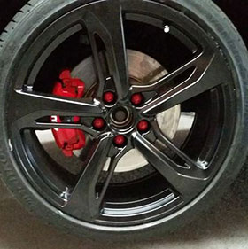 wheel respray caliper respray package